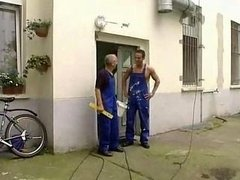 Workers Double drilling Large Titties Housewife
