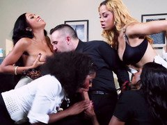 Handsome porn stud Keiran Lee is ready to please all ebony queens