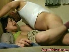 Japanese Sexually available mom has wacky sex free jav part1