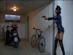Police Black Ebony