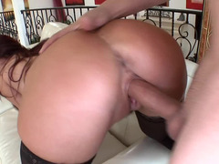 Hot mom i`d like to fuck with red hair is getting a hot load of cum in her mouth
