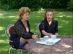 A pair of Grannies Take Tea And besides Ramrod