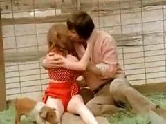 Pornographic dime component with an inapt poontang, Peggy Church, amazes in The Pig Keeper's Daughter
