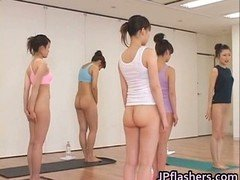 Japanese kittens practicing Far eastern undressed part2