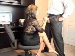 Hot Mom i`d like to fuck Office Oral