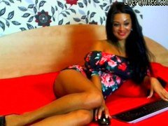 amazing brunette playing hard with her pussy1 wmv