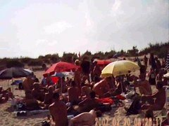 Fellation On Nudist French Beach