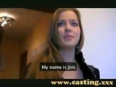 Adorable Kitten Casting Audition 1st time Good-looking C