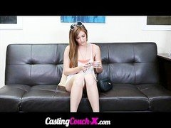 CastingCouchX Casting Really Non-professional Free Spirited College