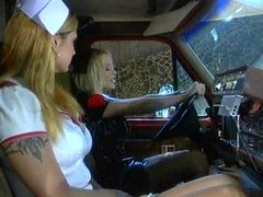 Very hot blond nurse is the unmatched medicine