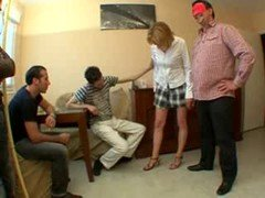 Husband Share Her Wife With Youn