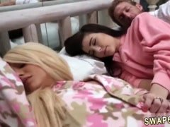 Russian teen ashton and pierced nipples xxx The Sleepover Switch-Up