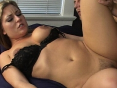 Avy Scott gets a petite taste of Czech with her foreign