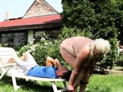 Dominant Adult bbw massaged before atm episode