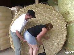 Plumpish Farmer German Granny