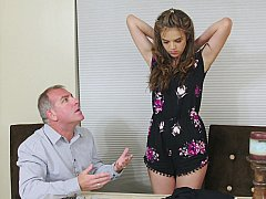 Hot girls of eighteen demonstrate sexual skills
