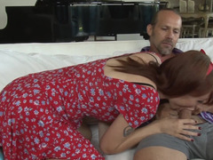 Cute Violet Monroe fucked in her sexy hairy pussy