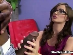 Lily Carter fucked by a Gross Black Penis