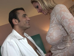 Babe in lace Zoey Holiday gets fucked in a hotel bed
