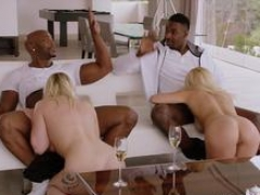 BLACKED A pair of Curvy College Students Crave BBC