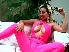 Alluring exotic Latina and moreover her dildo