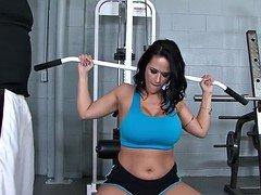 Carmella Bing At The Gym