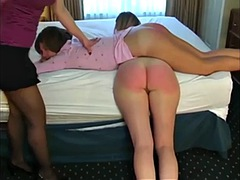 Audrey Knight spanking Women