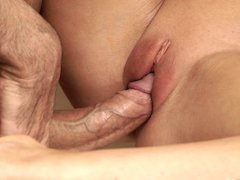 Nice love making action of young Tina Kay and her man Toby