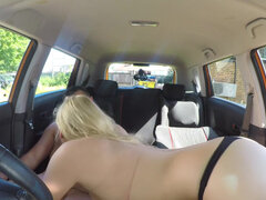 Katy Jayne seduces her driver