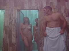 Undressed Sex Scene in Sauna (Celebrity)