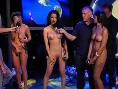 Worlds Strongest Naked Woman Contest