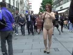 Lala undressed on streets