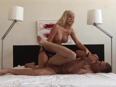 Surprise Girl Fucks Boyfriend - femdom strapon sex
