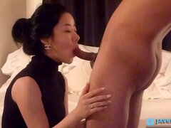 korean milf blowjob