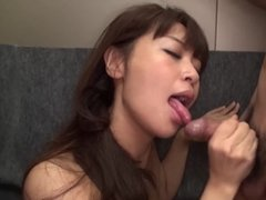 Two Japanese babes are taking care of the dirty sexual needs these blokes have