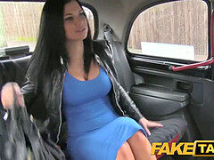 Described vid - FakeTaxi Sex starved career doll in lunch break sex tape