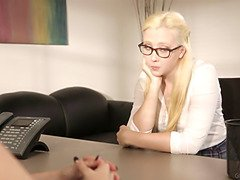Samantha Rone in detention part two: double penetration the prin