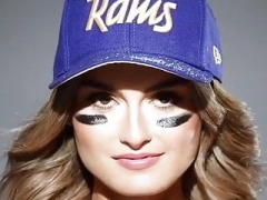 adore the sexiest nfl girl this playooff seaason also