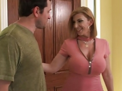 Sara Jay swallows a ride-share drivers load! Sinful America