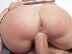 Glamorous doll Trisha Parks fucked in her ass and pussy