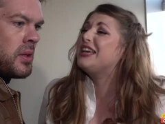 Fat busty bitch Tina Kay makes love with her neighbor