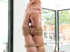 Zoey Monroe, Wrapped in Rope and Fucked by Five Cocks