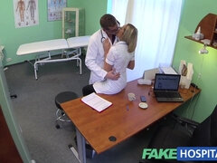 FakeHospital Steamy nurse licks butthole her way to a elevate