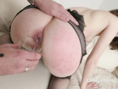 Jizz Male Milk In Her Rear After Double Penetration - Xozilla Xozilla Porn Movies