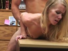 Pawnee gal jizzed in mouth by broker