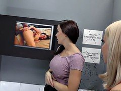 Brooklyn Chase & Chanel Preston Tries Anal - Gloryhole