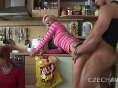 Party with Czech amateurs