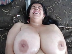 Latina Fleshy, Huge Titties