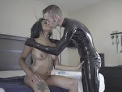 hot porn pro latex with cumshot movie