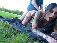 Real German thick Tits Hooker nubile Public fucky-fucky with Stranger